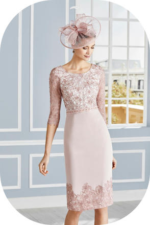 Rosa Clara 4G279 races dress