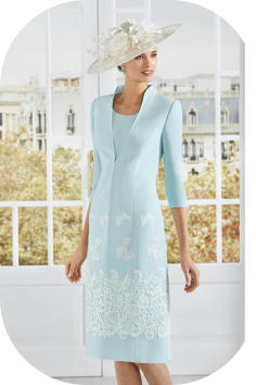 Rosa Clara 4G262 coat and dress