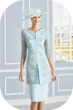 Rosa Clara 4G263 coat and dress mother of the bride