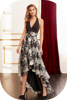 long evening dress rosa clara 4J1C5